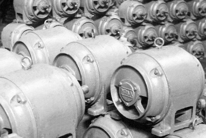 Электродвигатели серии УРАЛ
